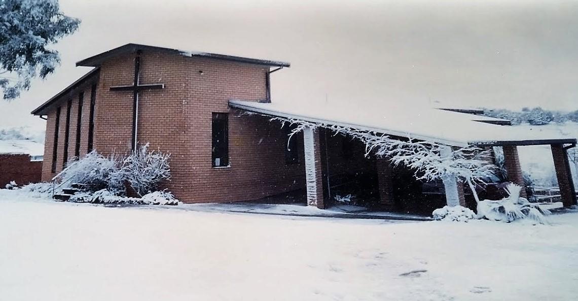 Orange winter wonderland -1980s cropped